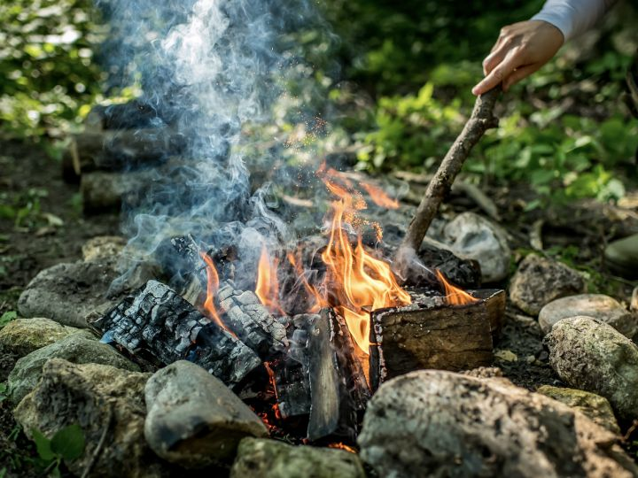 Cooking Over Charcoal And Wood