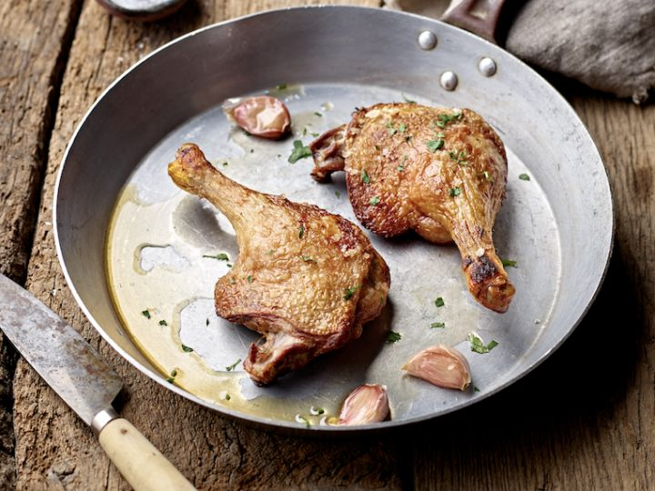 On the Block: Organic Duck Legs