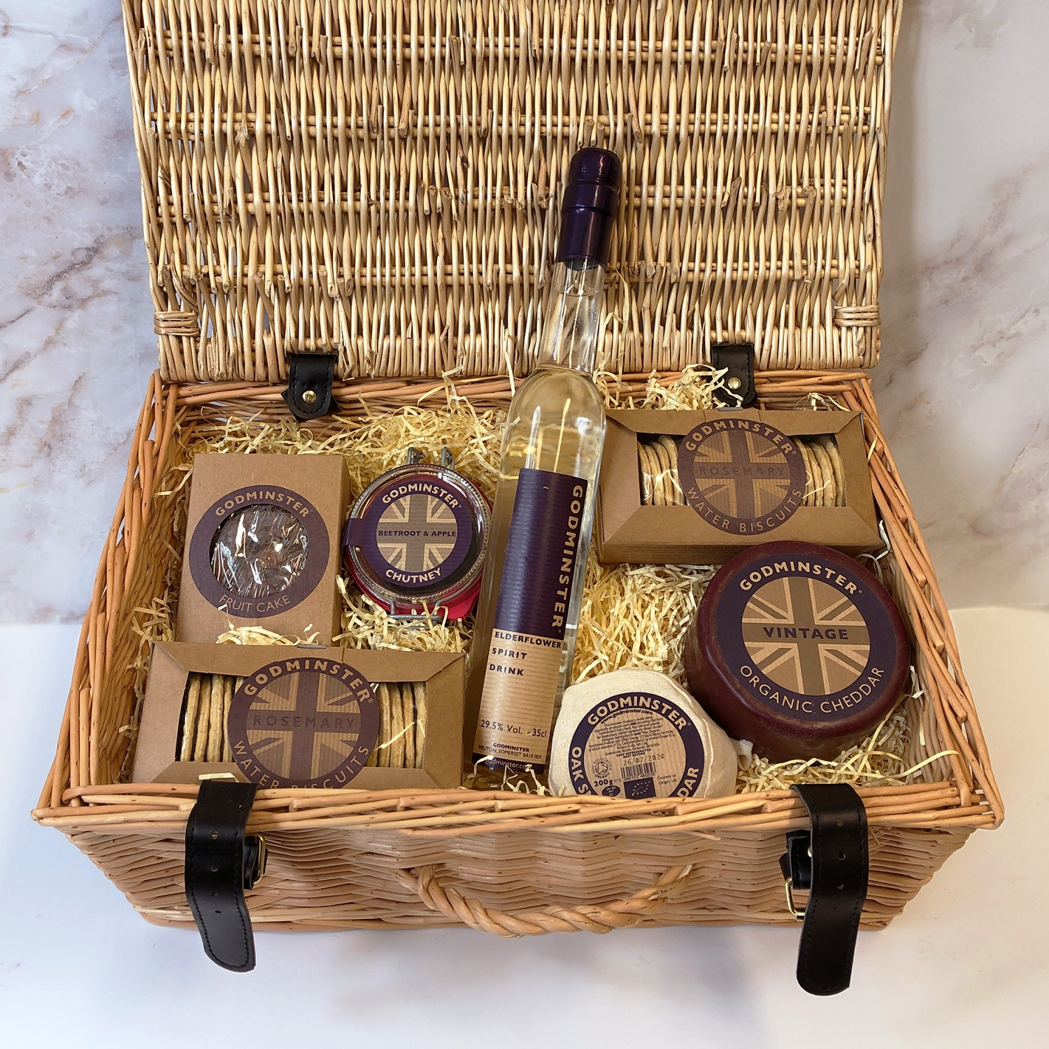 Win delicious Godminster Organic hampers