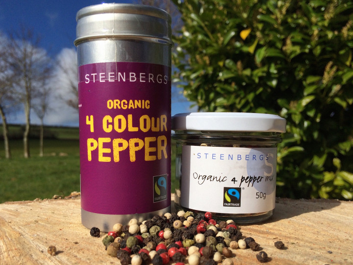 Organic and Fairtrade 4 Pepper Mix