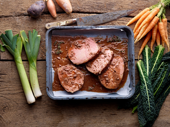 Organic Cooked Beef Silverside