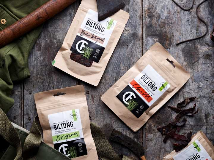 4 Packs of Biltong for £14.00