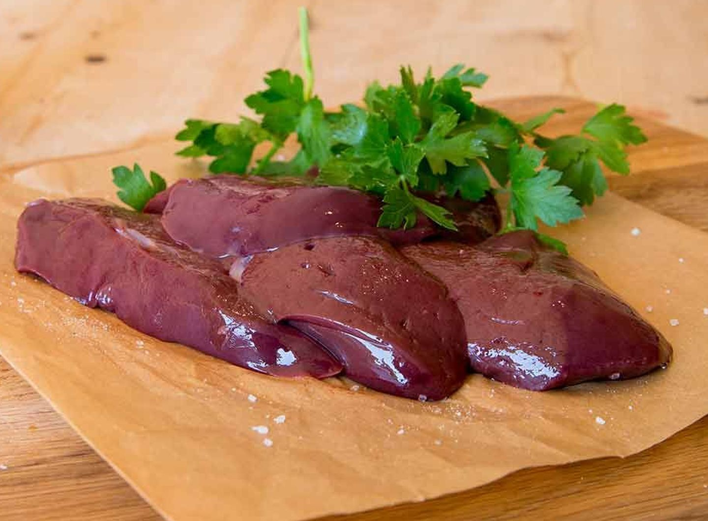 Grass-Fed Organic Ox Liver - Sliced | Coombe Farm Organic