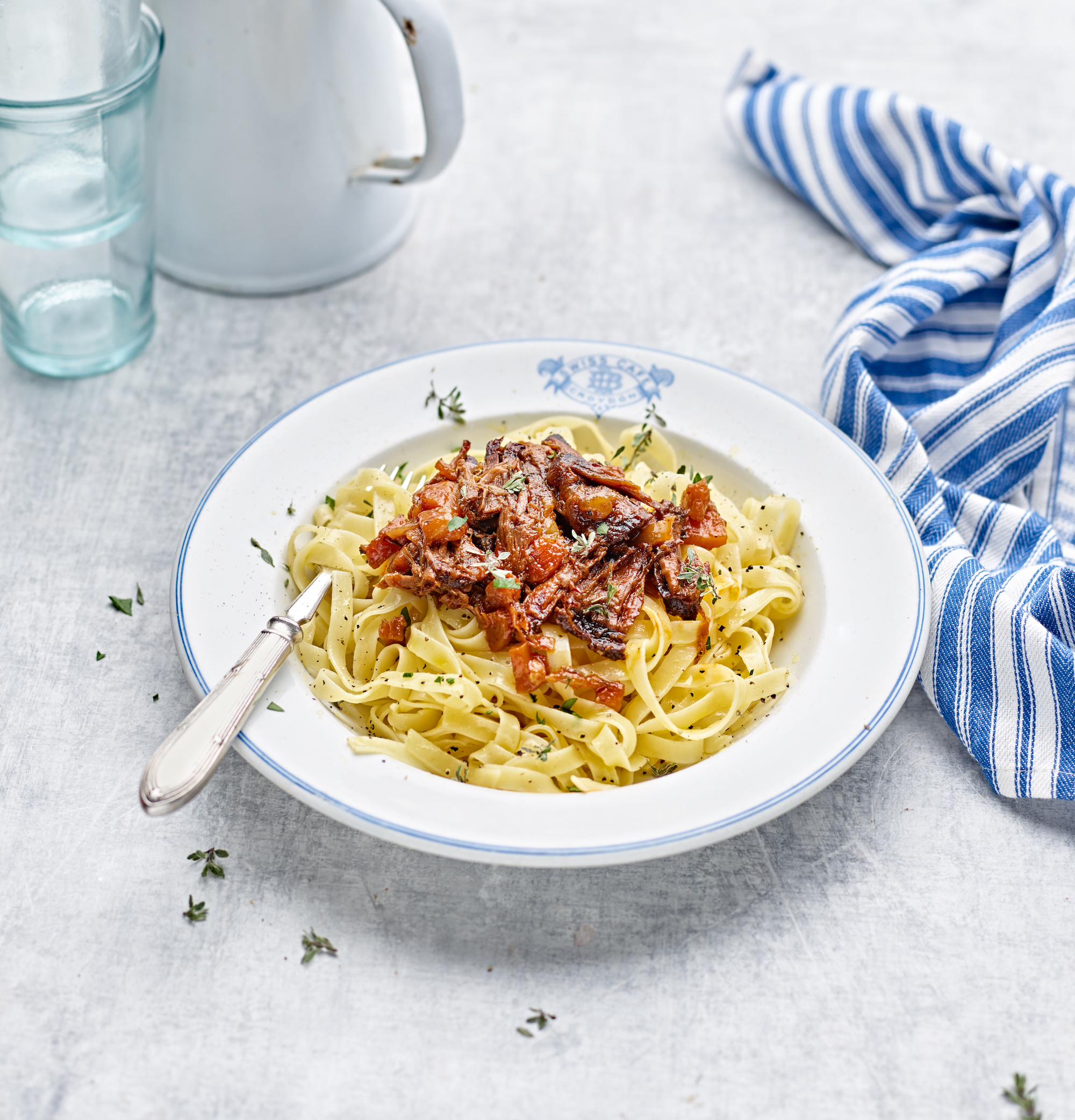 Rich Short Rib Ragu with Tagliatelle