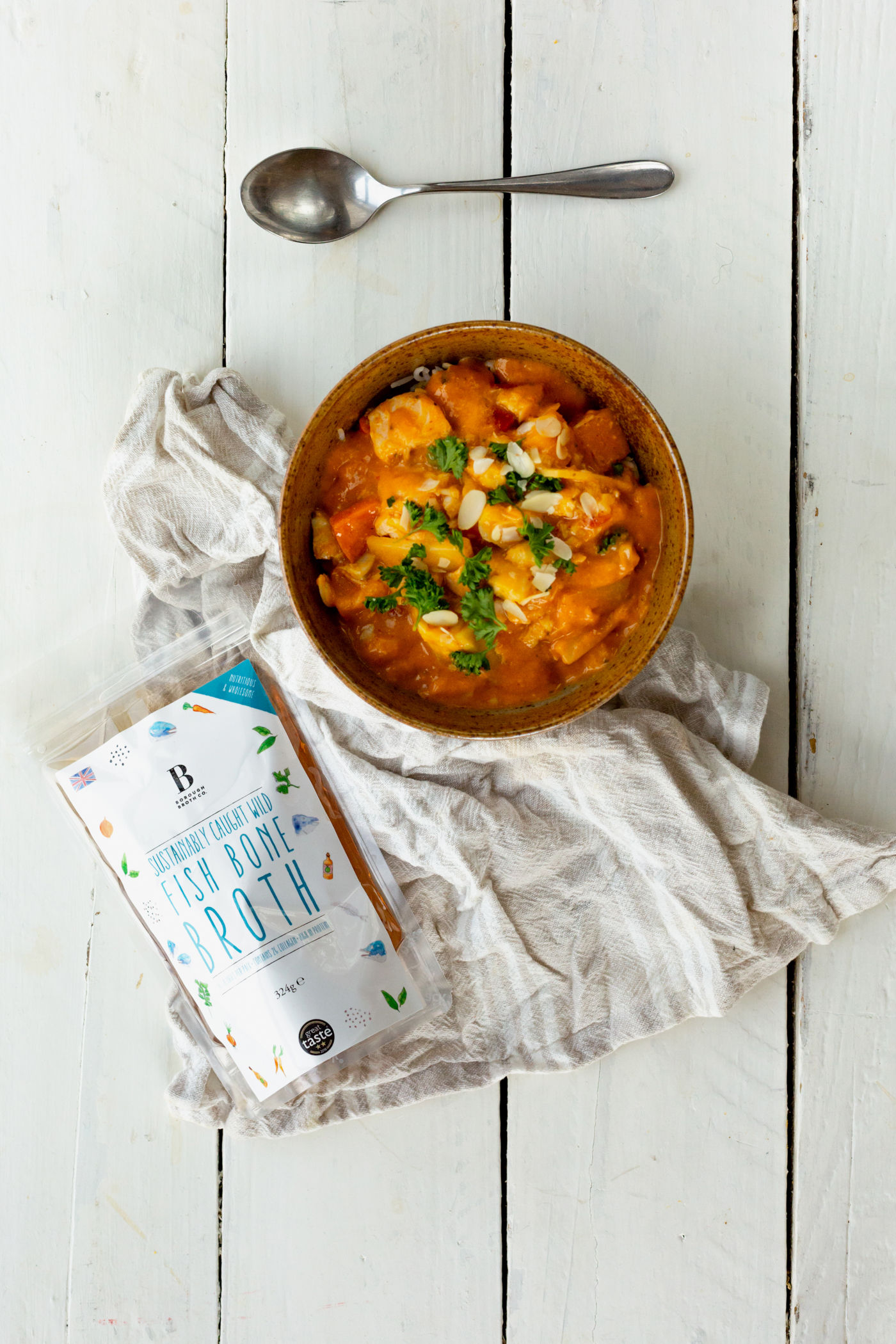 Goan Fish, Sweet Potato and Coconut Curry