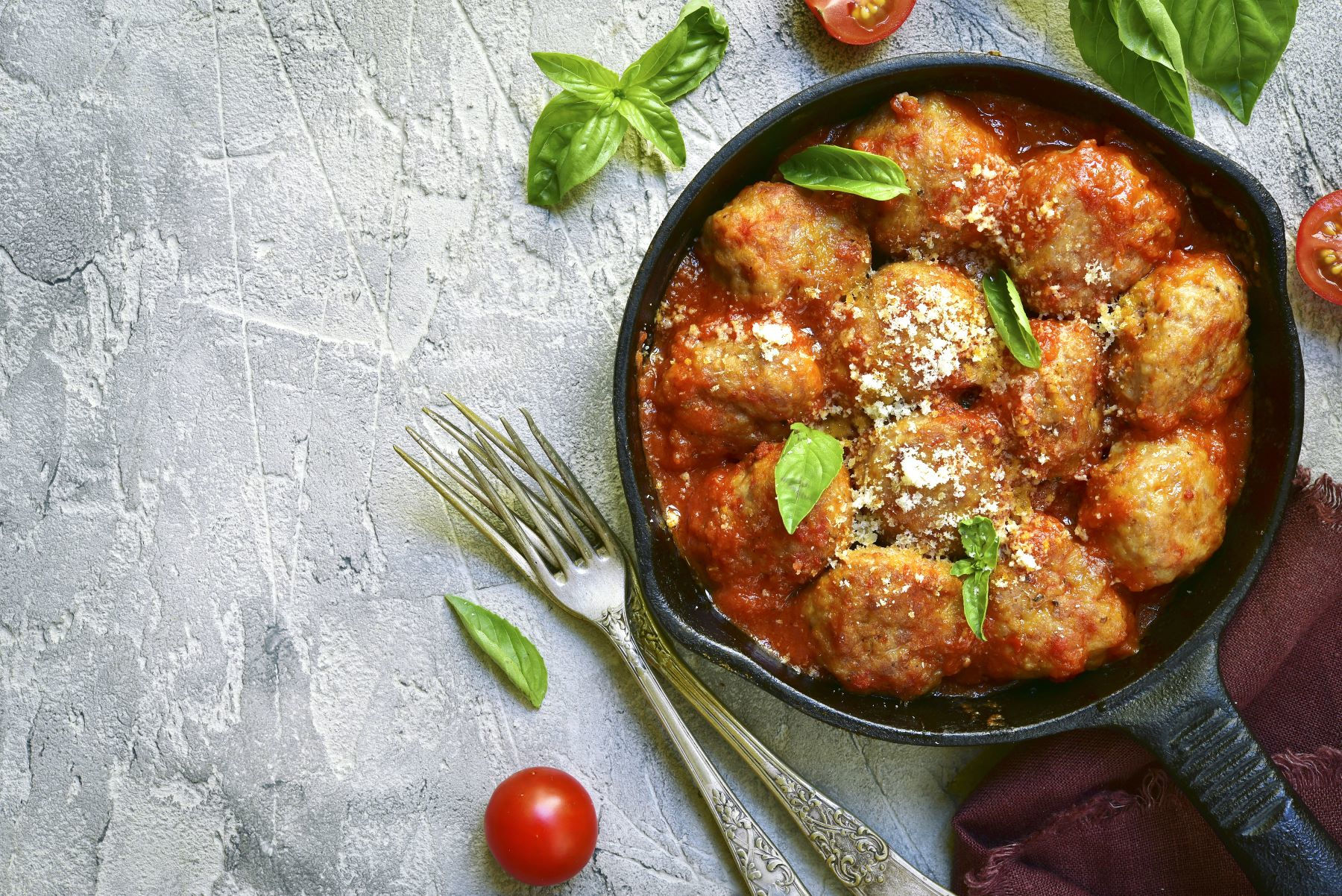 Rich Bolognese with Turkey Mince and Basil